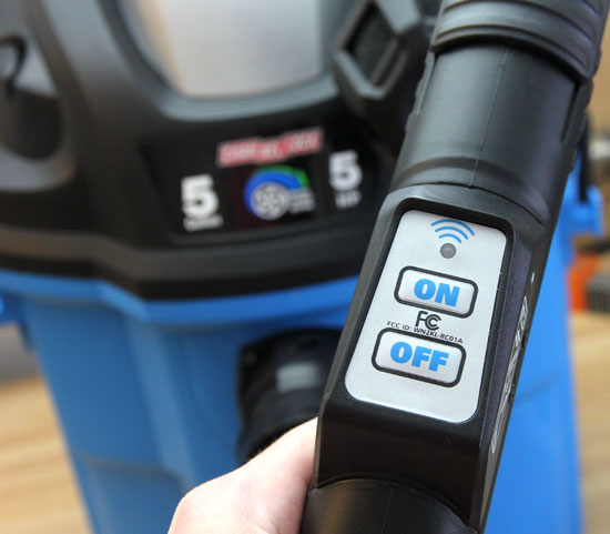 Channellock Garage Vacuum Remote Control - Channellock Wall-Mount Vacuum Review