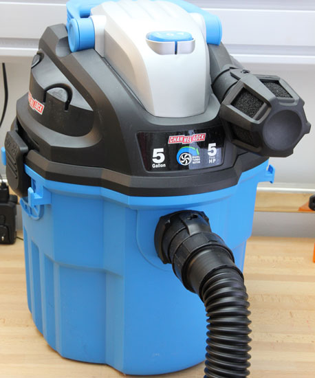 Channellock Wall-Mount Vacuum Review