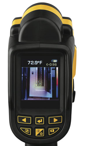 Dewalt DCT416 Thermal Imaging Camera Display