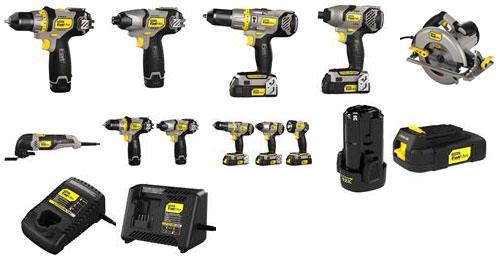 New stanley fatmax power tools!!