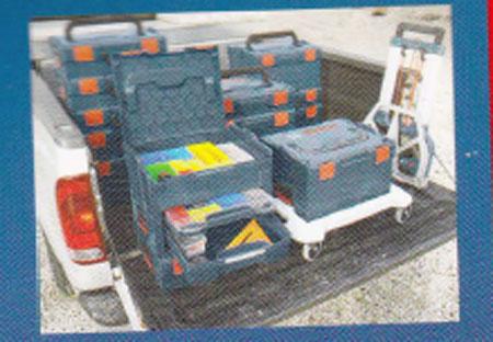 New Bosch L Boxx Tool Box Click Amp Go L Cart And L Dolly