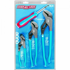 Channellock Pliers Screwdriver Gift Set 2012