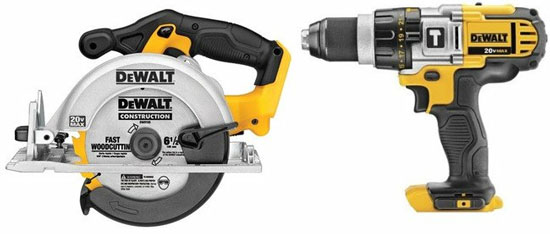 dewalt 20v bare tools finally available