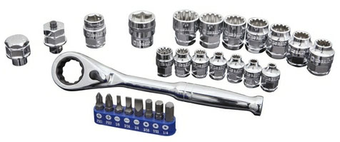 Kobalt Extreme Access 27-Piece Socket Set