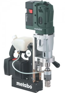 New Metabo Cordless Magnetic Drill Press