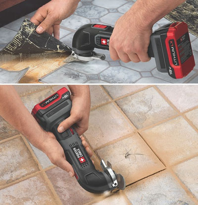 Porter Cable 18V Oscillating Tool Usage Examples