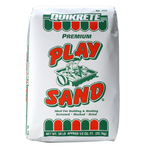 Sandbox Play Sand for Sandbag Counterweights