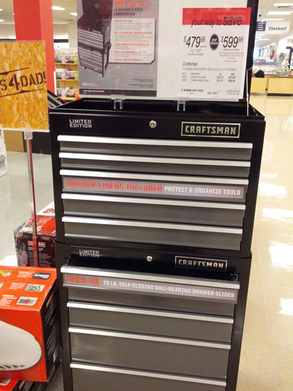 Craftsman Limited Edition Ball Bearing Tool Chest