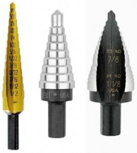 Benefits of Unibits and Step Drill Bits