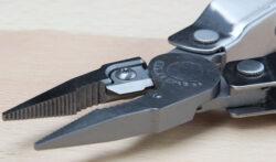 Leatherman Rebar Jaws Wire Cutter Closeup
