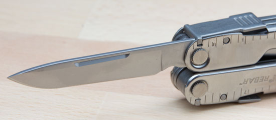 Leatherman Rebar Plain Edge Knife