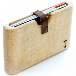 Slim Timber Wood Wallet