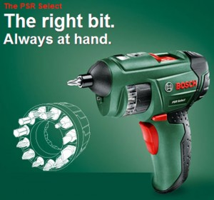 Bosch (UK) Auto-Loading Cordless Screwdriver