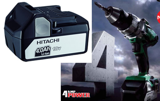 New Hitachi 18V 4.0Ah Battery