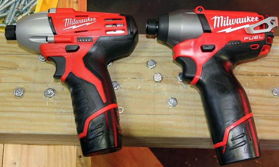 Milwaukee M12 Fuel Impact Driver Comparison