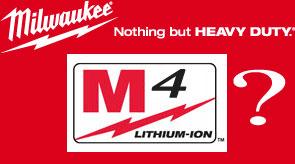 Milwaukee M4 Cordless Tools