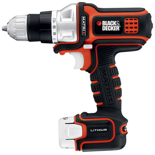 Black & Decker Matrix 12V with Drill Driver