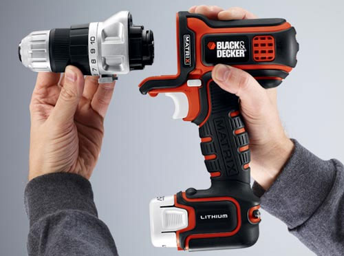 Black & Decker Matrix Drill Driver