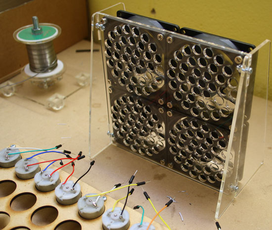 DIY Solder Fume Extractor with Computer Fans