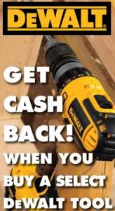 Dewalt Power Tool Rebate Sale