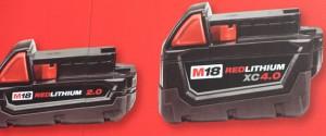 New Milwaukee Higher Capacity M12 and M18 Batteries
