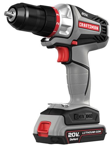 Craftsman Bolt-On 20V Drill Driver
