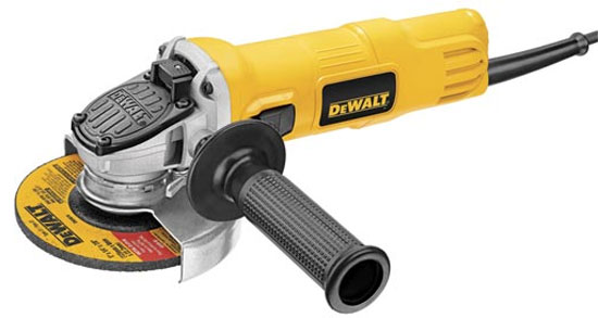 New Dewalt Compact Angle Grinder with One-Touch Guard