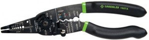 Greenlee 1927A stripping and crimping tool