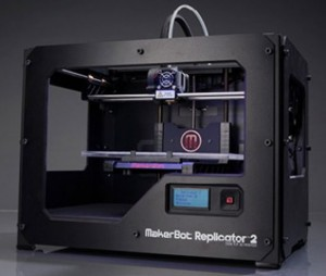 New Makerbot Replicator 2 with Higher Resolution and Larger Print Volume
