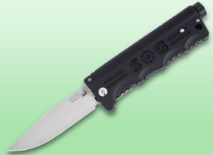 SOG Blade Light Knife with Built-in Flashlight