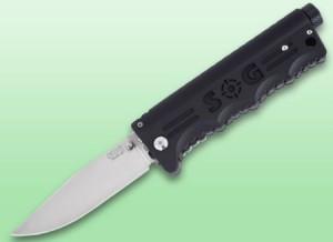 SOG Blade Light Knife with Built-in Flashlight