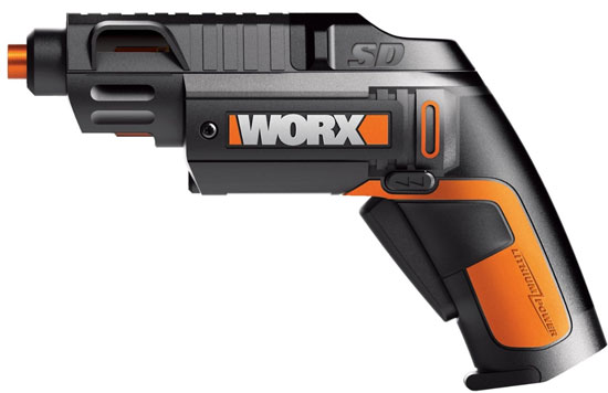 Worx Semi Automatic Screwdriver Side