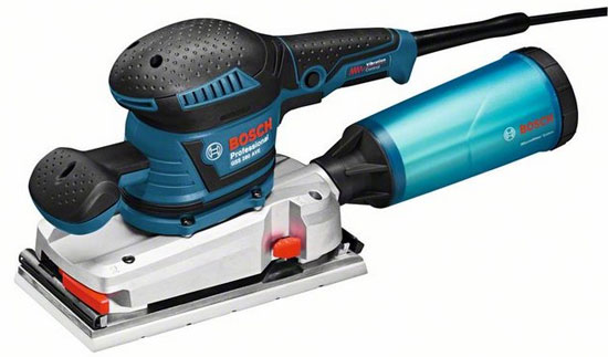 New Bosch (UK/EU) Orbital Sanders with Vibration Dampening