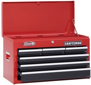Craftsman Ball Bearing Storage Combo Sale – Red & Black
