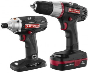 New Craftsman C3 Lithium-ion Drill Driver Kits and Battery Packs