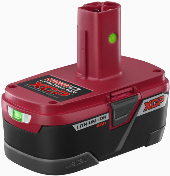 New Craftsman C3 19 2v Xcp Lithium Ion Battery Platform