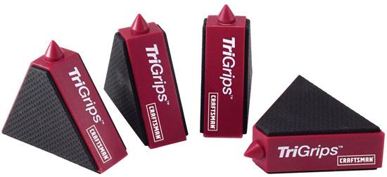 New Craftsman TriGrips Work Supports (aka Triangular Bench Cookies)