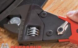 Crescent Ratcheting Adjustable Wrench Mechanism