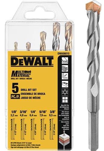 Dewalt Multi Material Drill Bits Bore Through Anything