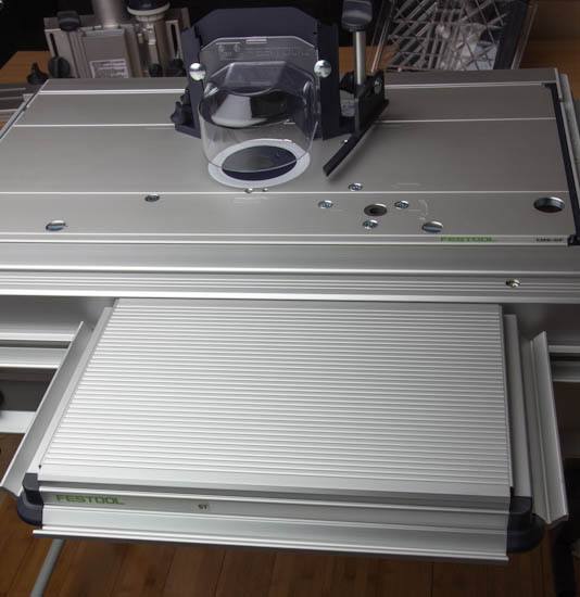 how to use festool router table