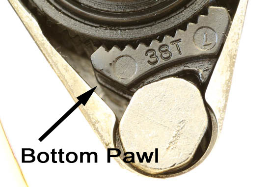 Gearwrench 120XP Ratchet Bottom Pawl