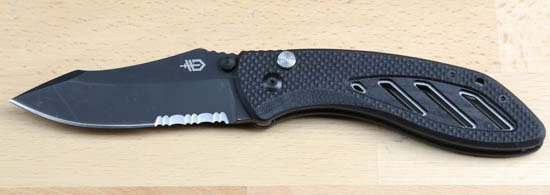 Gerber Instant Folding Knife Open