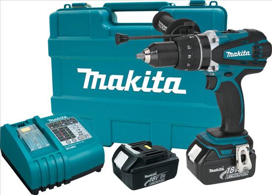 Makita LXPH03 Hammer Drill Kit