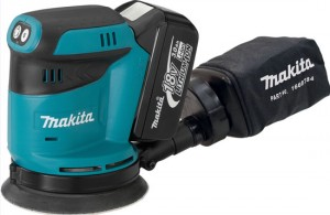 New Makita 18V Cordless Random Orbit Sander