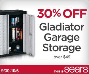 Gladiator Storage Sale At Sears