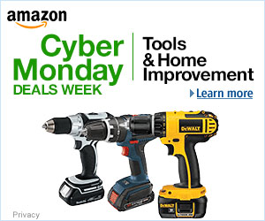 Amazon Cyber Monday 2016 Tool Deals