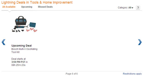 Amazon Tool Lightning Deals 11-29-12 Page 6