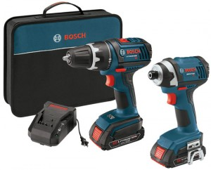 Weekend Deal: Bosch 18V Drill and Impact Driver Combo for $200