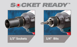 Bosch CORE Brushless Impactor Socket Ready Chuck