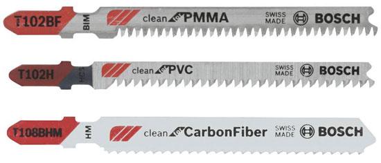 New Bosch Plastic Cutting Jig Saw Blades